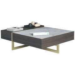 Stripe Coffee Table by Buket Hoscan Bazman for Marbleous