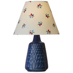 Vintage Danish Ceramic Table Lamp by Søholm