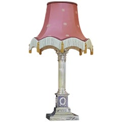 Corinthian Column Table Lamp