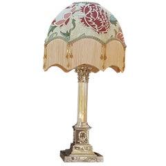 Corinthian Column Table Lamp