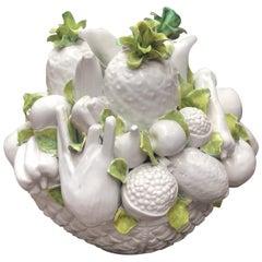 Ceramic Fruit Basket, France
