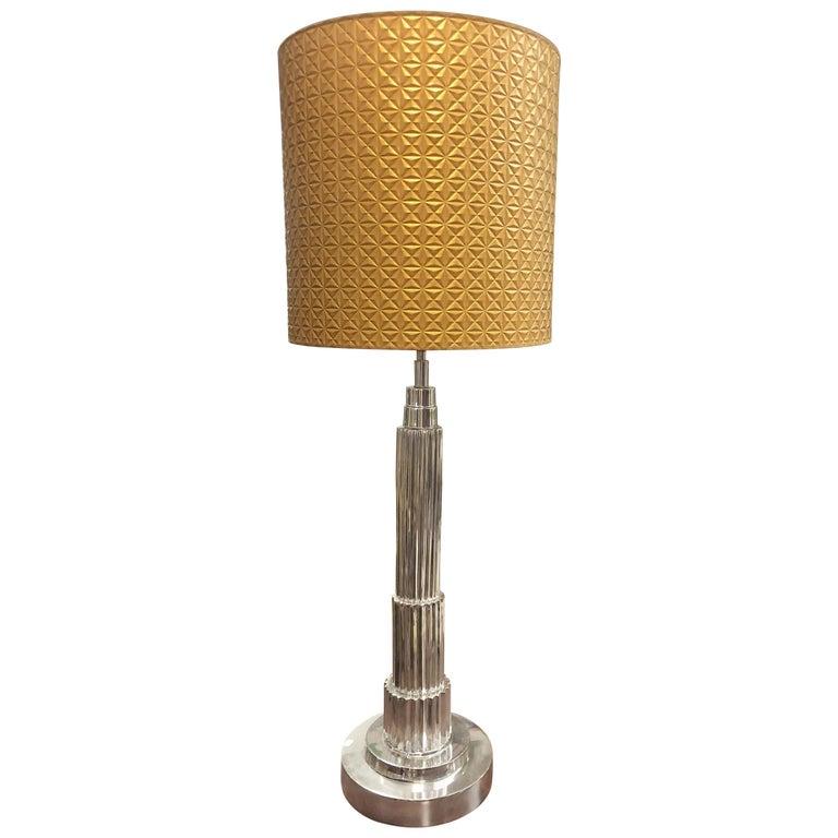 Midcentury French Stylish Table Lamp