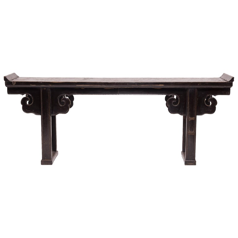 Console Table with Cloud Spandrels For Sale