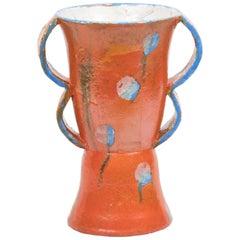 Walter Bosse 1920s Ceramic Vase with Double Handles