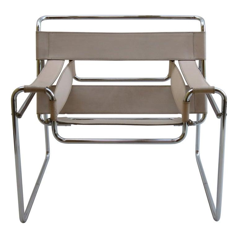 Marcel Breuer B3 Wassily Chair by Gavina, Italy