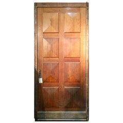 Geometric Panel Door, circa 1900