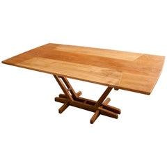 Dining Table on Tropical Brazilian Hardwood by Ricardo Graham Ferreira