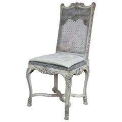 Swedish Rococo Style Desk Chair