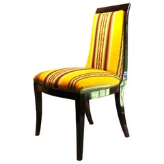 French Art Deco Side Chair Manner of Émile-Jaques Ruhlmann