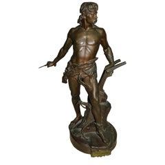Émile-andré Boisseau Bronze Sculpture