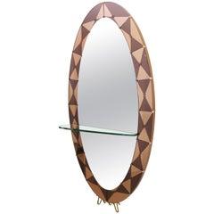 Rare Cristal Art Mirror