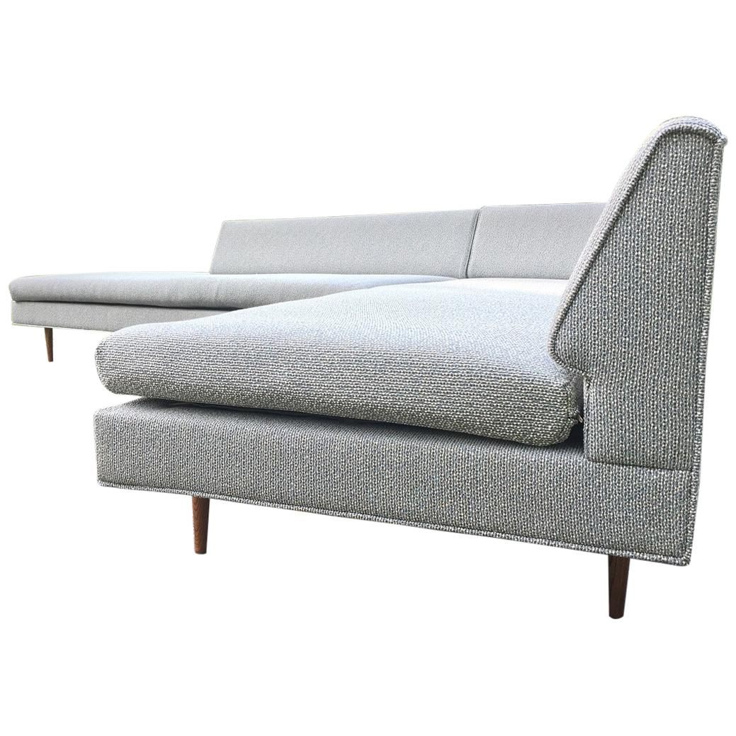Superior Mel Abitz For Galloway Furniture Angled Sectional Sofa For Sale