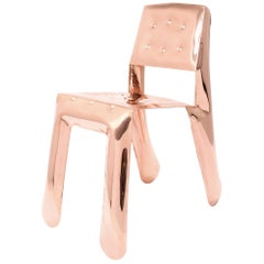 Limited Edition Chippensteel 0.5 Chair in Lacquered Copper by Zieta