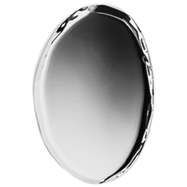 Tafla O5 Mirror in Polished Stainless Steel by Zieta
