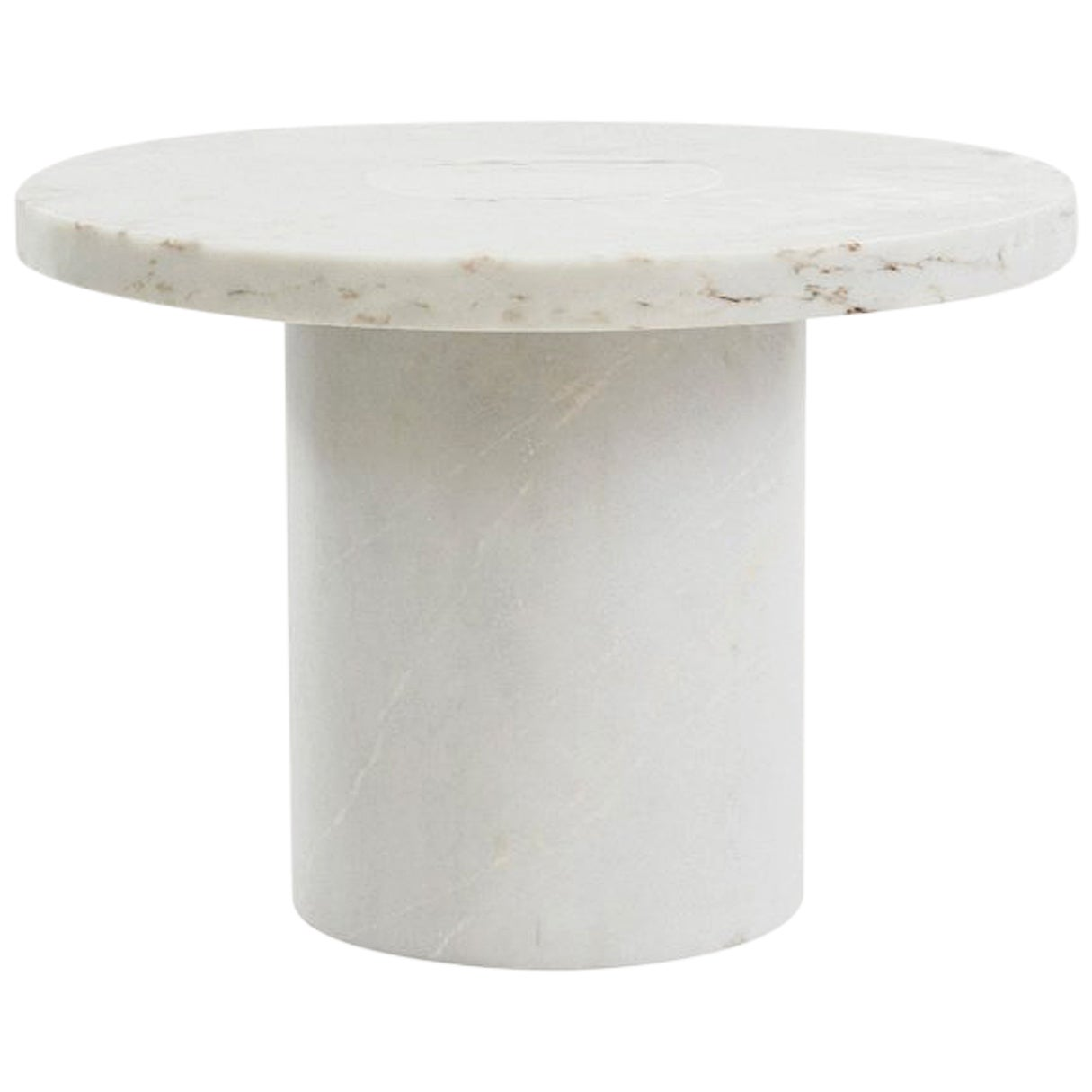 Contemporary Sintra Table Large in White Marble
