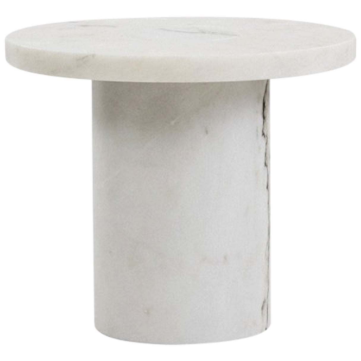 Contemporary Sintra Table Small with White Marble