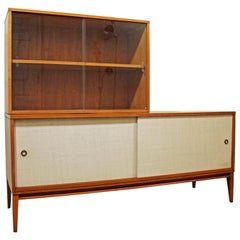 Mid-Century Modern Paul McCobb Planner Group Two-Piece Credenza/Media Console