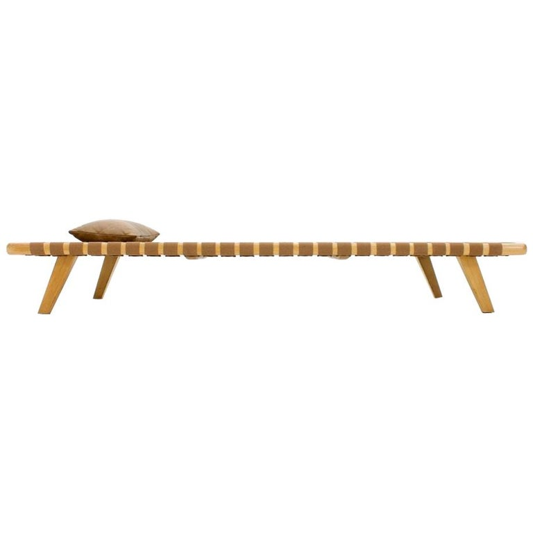Minimalist Daybed Bench, 1950s