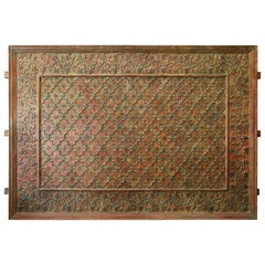 1840s Teak Wood and Bronze Monumental Ceiling from a Jain Temple in Gujarat