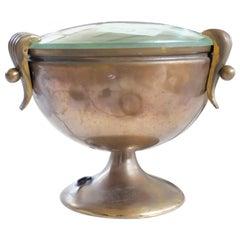 Quaint Fontana Arte Goblet Table Lamp, 1950s