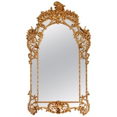 Beautiful Carved and Gilded Wood Regence Style Mirror
