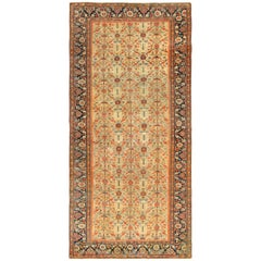Yellow Color Background Antique Sultanabad Persian Rug