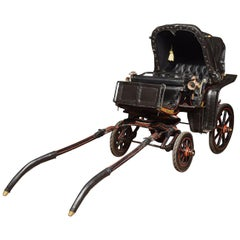 Childs Barouche Toy Carriage