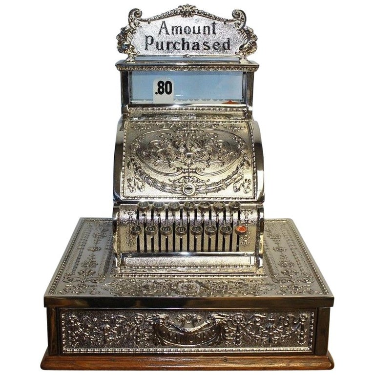 1909 National Cash Register Mod 321 For Sale
