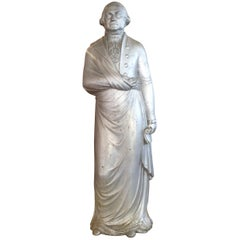 George Washington 1870s Cast Iron Stove Figure