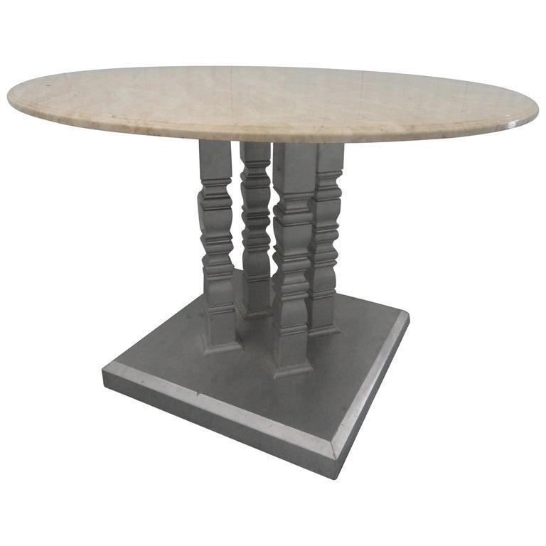 Four-Column Table For Sale