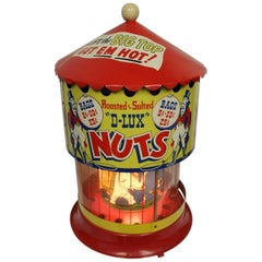 1950s-1960s D-Lux Hot Nuts Carousel Circus Theme