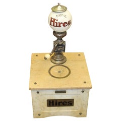 1909 Hires Soda Munimaker Syrup Marble Soda Fountain Dispenser