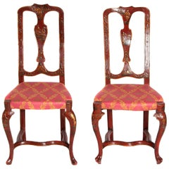 Pair of English Side Chairs