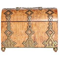 English Burlwood Box