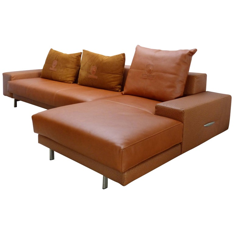 Leather And Suede Sofa Esofa Modern Wide Arm Rest Recliner