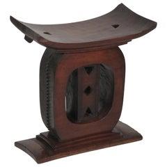 Antique African Queens Throne Seat