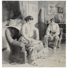 Rene Lelong Painting