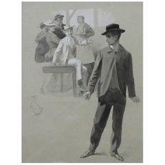 René Lelong Painting