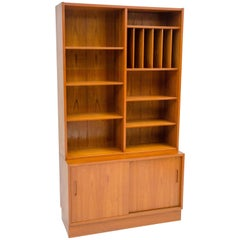 Danish Teak Cabinet and Bookcase Poul Hundevad