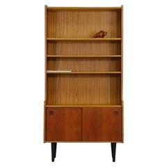 Midcentury Classic Teak Cabinet Bookcase, 1960-1970