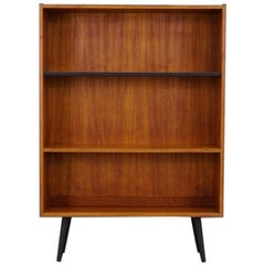 Teak Bookcase Scandinavian Design Vintage, 1960-1970