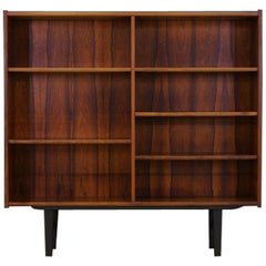 Classic Bookcase Vintage Retro Rosewood