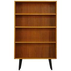 Vintage Bookcase Teak Classic Retro, 1960-1970
