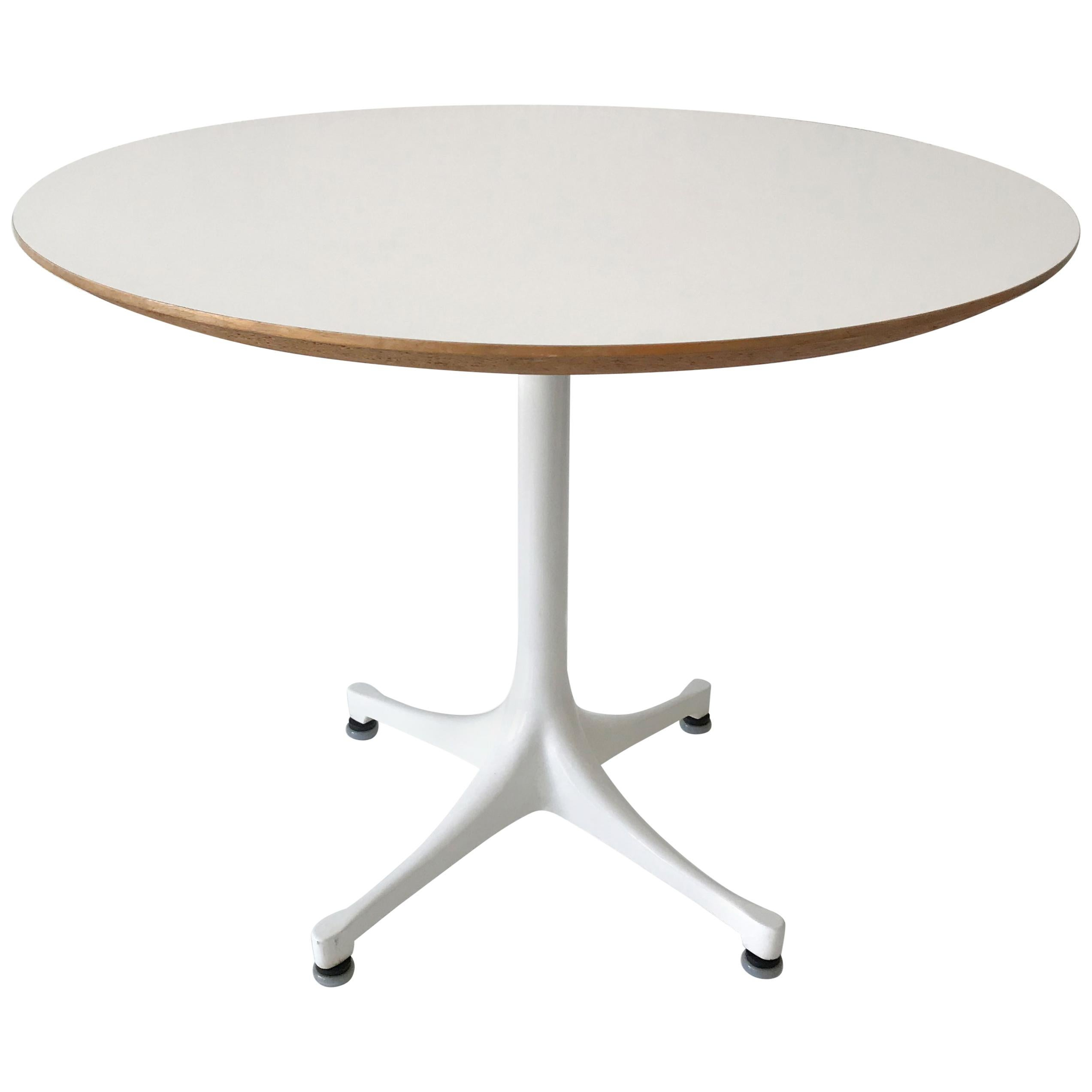 Pedestal Coffee Table 5452 By George Nelson For Herman Miller, 1960s, USA