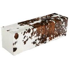 Tricolor Cowhide Bench