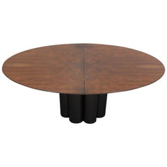 Paul Evans Directional Oval Dining Table, 1975