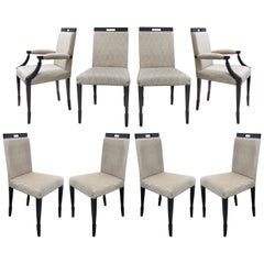 Medea Mobilidea Washington Dining Chairs by Alessandro La Spada, Set of Eight