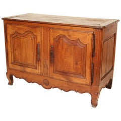Louis XV Provincial Fruit Wood Buffet