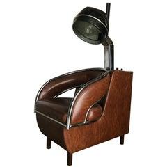 """Unusual Modernist Beauty Salon Hair Dryer """"Orbit"""" by Belvedere Company"""