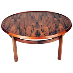 Coffee Table in Rosewood by Torbjørn Afdal, Bruksbo, Norway